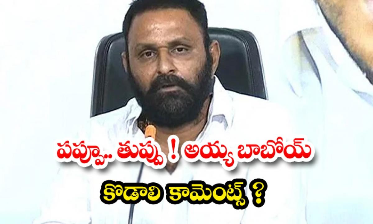 Kodali Nani Sensational Comments On Lokesh Chandrababu-పప్పూ.. తుప్పు అయ్య బాబోయ్ కొడాలి' కామెంట్స్ -Political-Telugu Tollywood Photo Image-TeluguStop.com