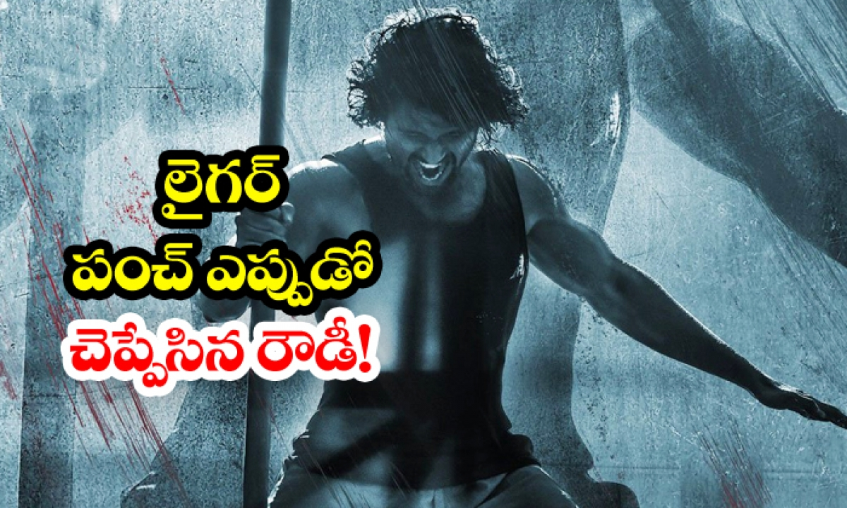 Liger Movie Release Date Fixed-అఫీషియల్: లైగర్ పంచ్ ఎప్పుడో చెప్పేసిన రౌడీ-Breaking/Featured News Slide-Telugu Tollywood Photo Image-TeluguStop.com