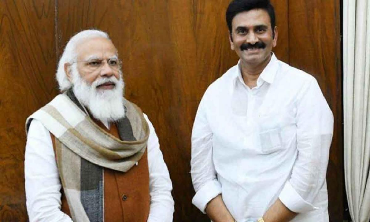 MP Raghurama Requests Modi To Focus On The AP's Financial Situation-Latest News English-Telugu Tollywood Photo Image-TeluguStop.com