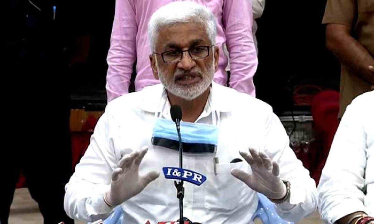 MP Vijaysai Reddy Extends His Support To Vizag Steel Plant Workers' Protest-Latest News - Telugu-Telugu Tollywood Photo Image-TeluguStop.com