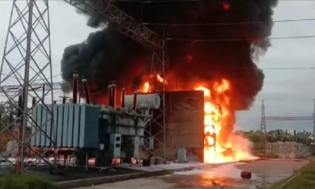 A Massive Fire Broke Out In A Substation In Bhadradri Kottagudem District-Latest News English-Telugu Tollywood Photo Image-TeluguStop.com
