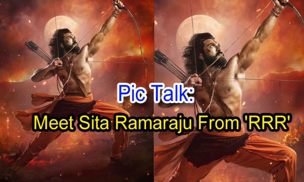 Pic Talk: Meet Sita Ramaraju From 'rrr'-TeluguStop.com