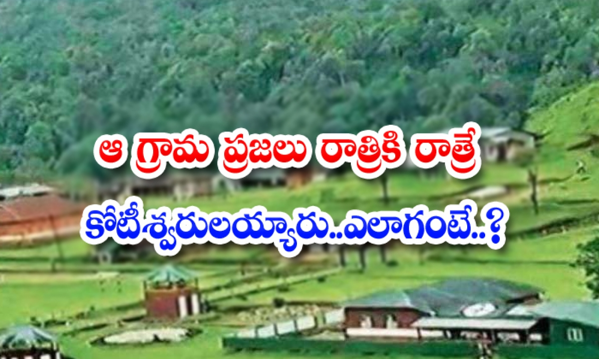 Viral The People Of That Village Became Millionaires Night After Night Somehow-TeluguStop.com