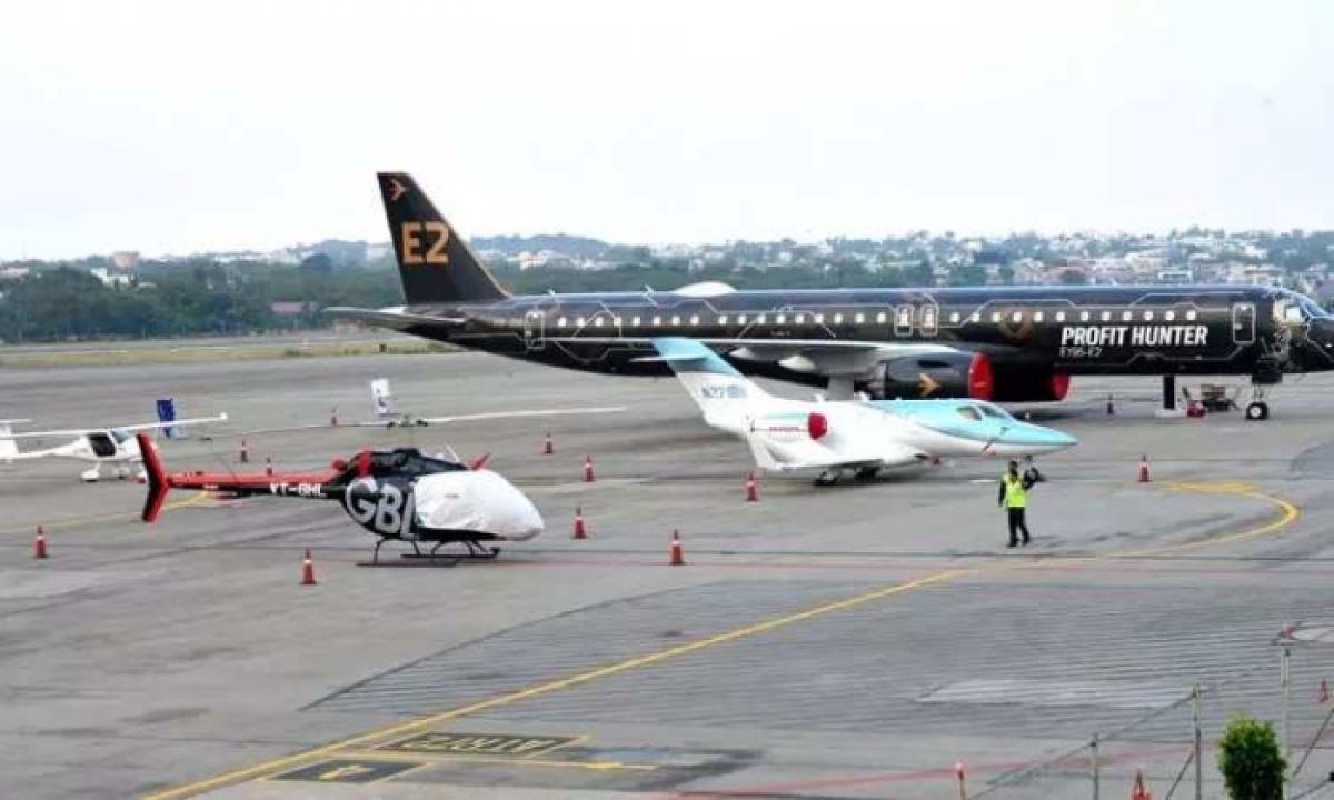Minister Ktr Urges Union Govt To Turn Begumpet Airport Into Aviation Varsity-TeluguStop.com