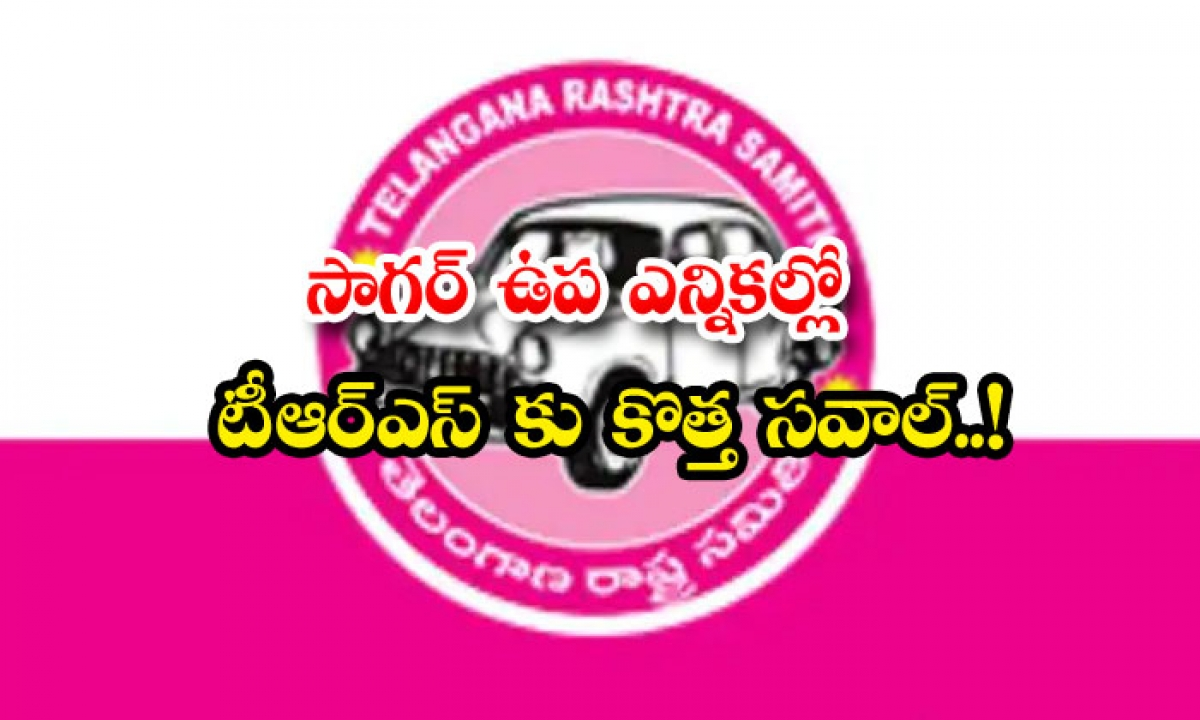 New Challenge For Trs In Sagar By Elections-TeluguStop.com