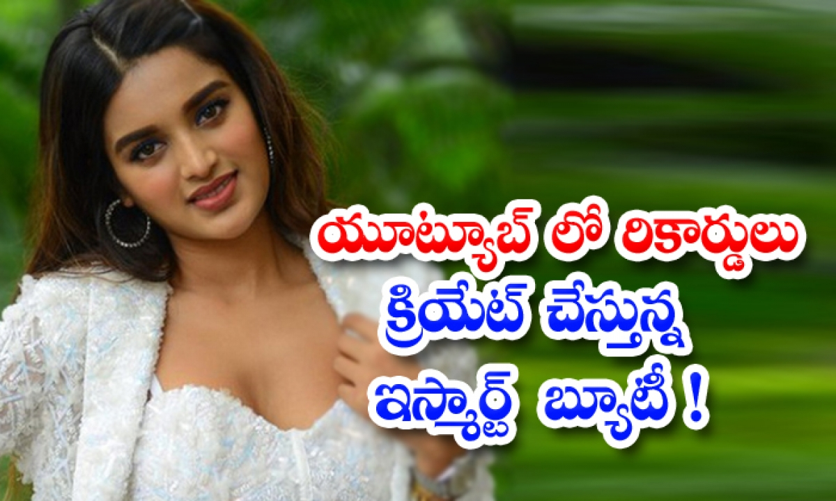 Nidhi Agarwal Movies Is Creating Records On Youtube-TeluguStop.com