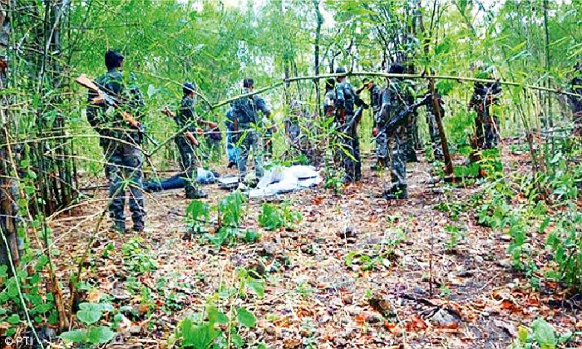 Police Are Carrying Out Extensive Combing At AOCB-Latest News - Telugu-Telugu Tollywood Photo Image-TeluguStop.com