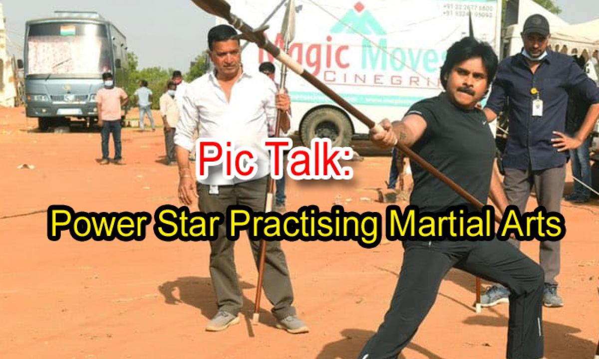 Pic Talk: Power Star Practising Martial Arts-Latest News English-Telugu Tollywood Photo Image-TeluguStop.com