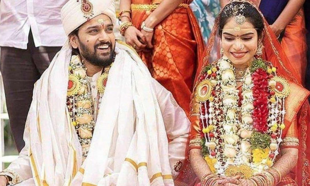 Pic Talk: Sumanth Ashwin Gets Hitched-TeluguStop.com