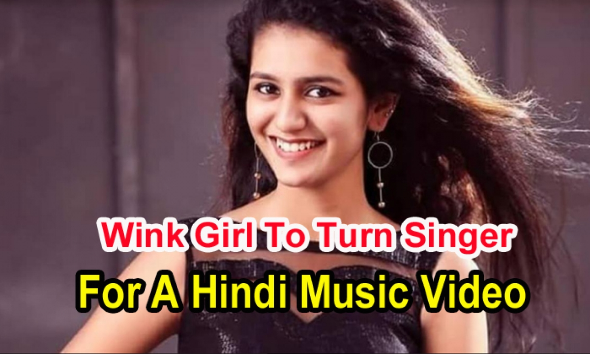 Wink Girl To Turn Singer For A Hindi Music Video-TeluguStop.com