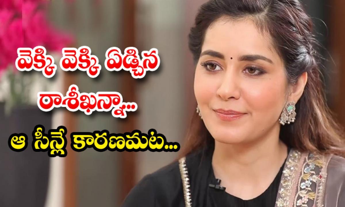 Viral Rashi Khanna Shares Emotional Moment About Madras Cafe Movie Shooting-TeluguStop.com