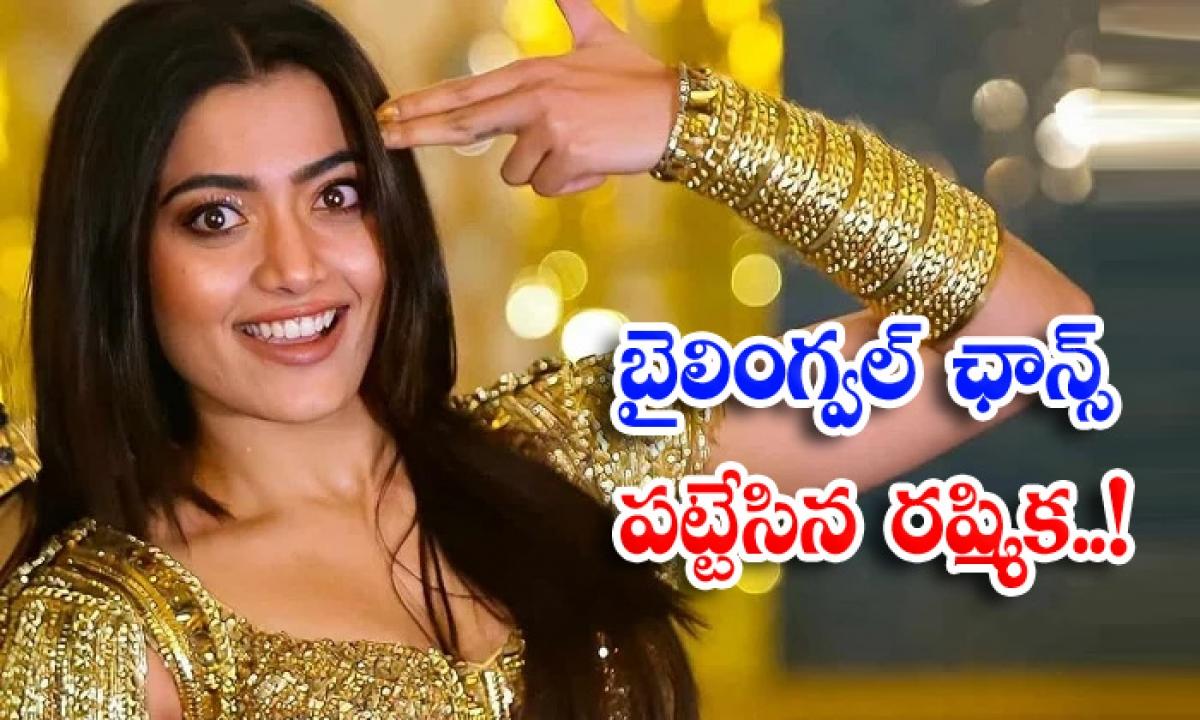 Rashmika Mandanna In Bilingual Movie Shiva Karthikeyan-బైలింగ్వల్ ఛాన్స్ పట్టేసిన రష్మిక..-Latest News - Telugu-Telugu Tollywood Photo Image-TeluguStop.com