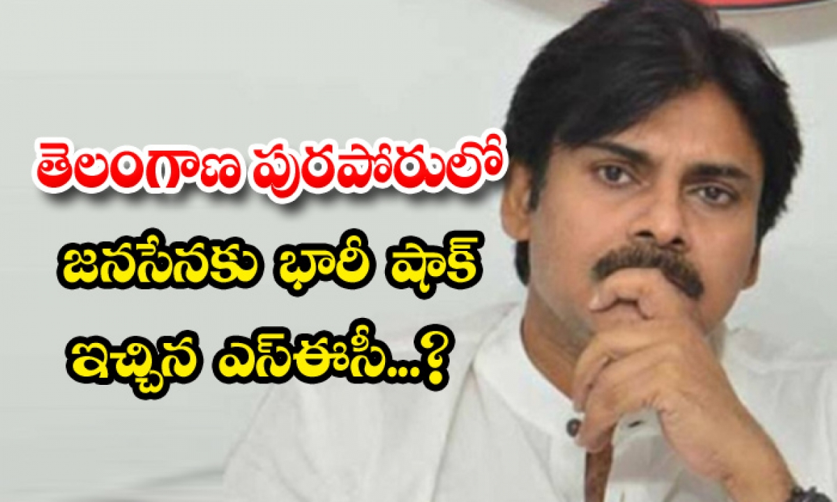 Sec Gave Unexpected Shock To Janasena In-TeluguStop.com