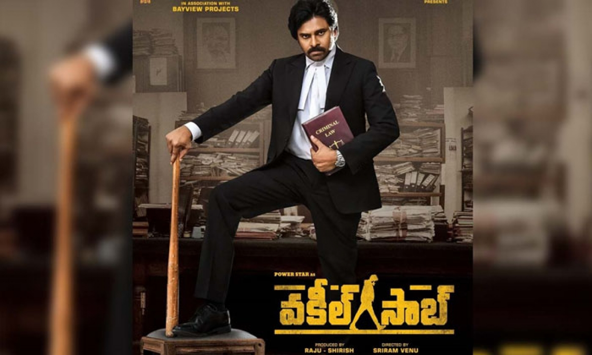 """sathyameva Jayathe"" From 'vakeel Saab' Is Powerfull-TeluguStop.com"