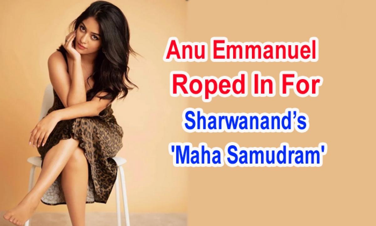 Anu Emmanuel Roped In For Sharwanand's Maha Samudram'-Latest News English-Telugu Tollywood Photo Image-TeluguStop.com