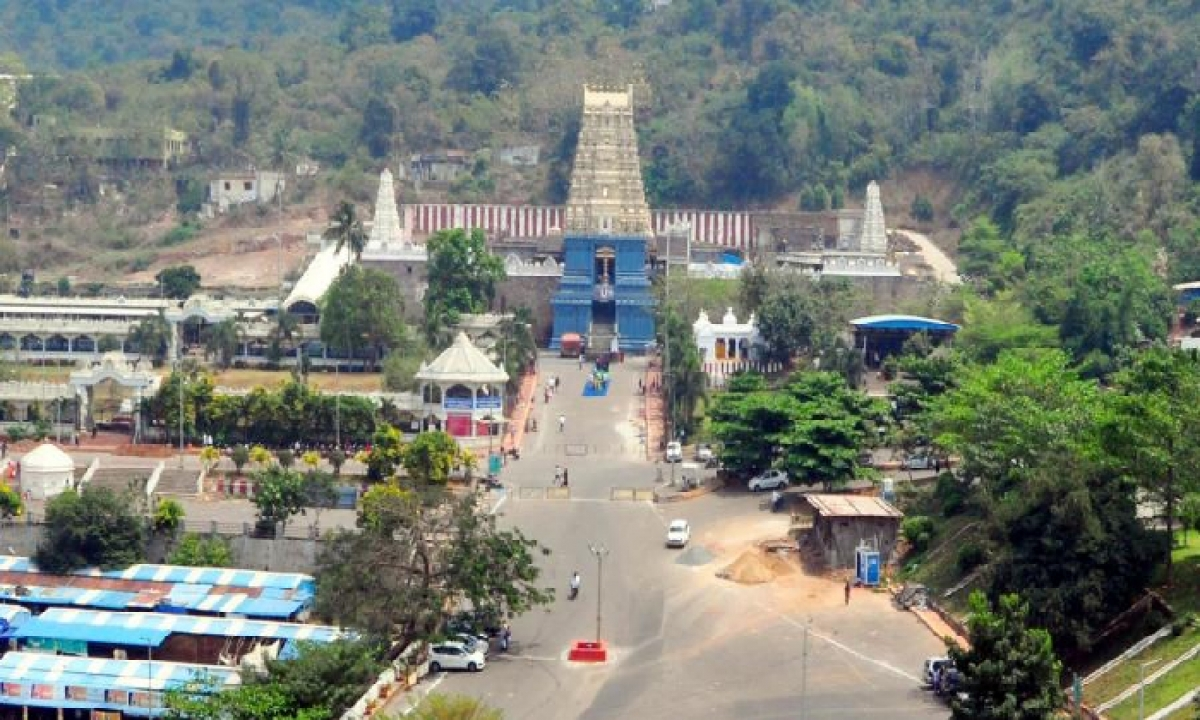 Simhachalam Temple Will Remain Closed From May 10 To May 15-TeluguStop.com