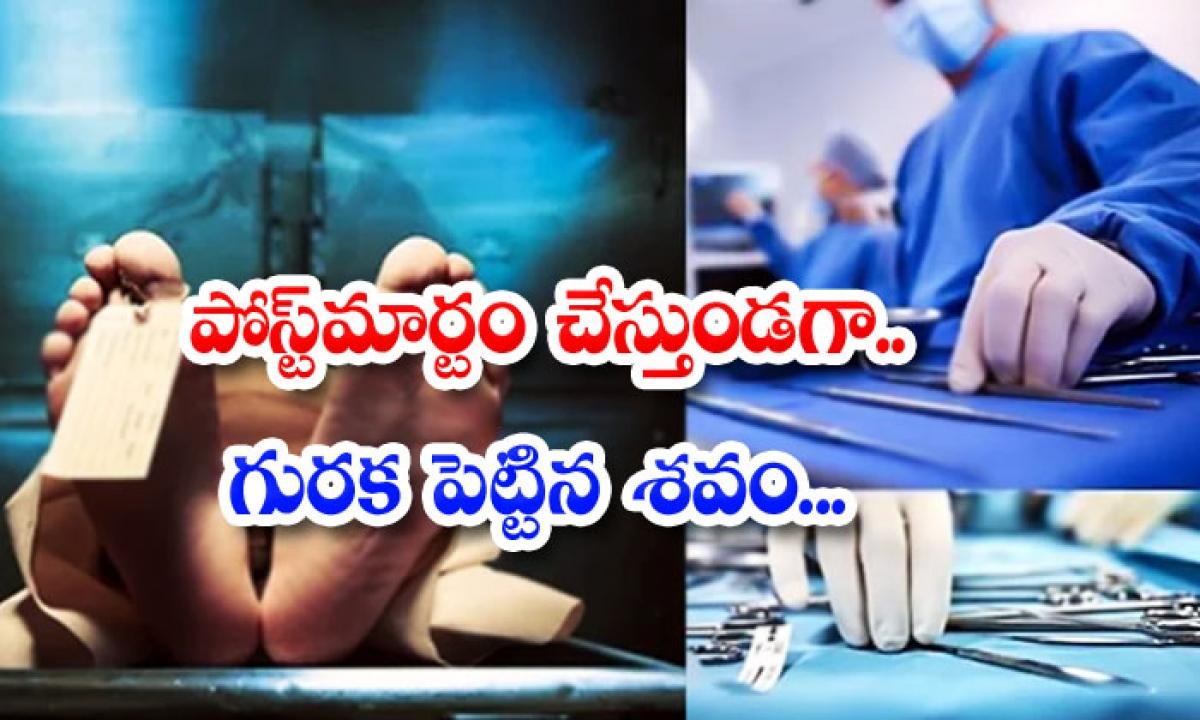 While Postmortem Snoring Corpse-పోస్టుమార్టం చేస్తుండగా.. గురక పెట్టిన శవం..-General-Telugu-Telugu Tollywood Photo Image-TeluguStop.com