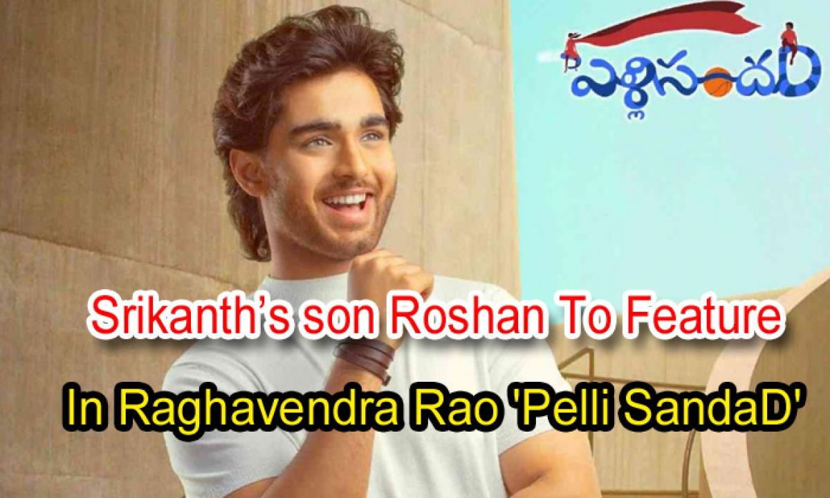 Srikanth's Son Roshan To Feature In Raghavendra Rao Pelli SandaD'-Latest News English-Telugu Tollywood Photo Image-TeluguStop.com