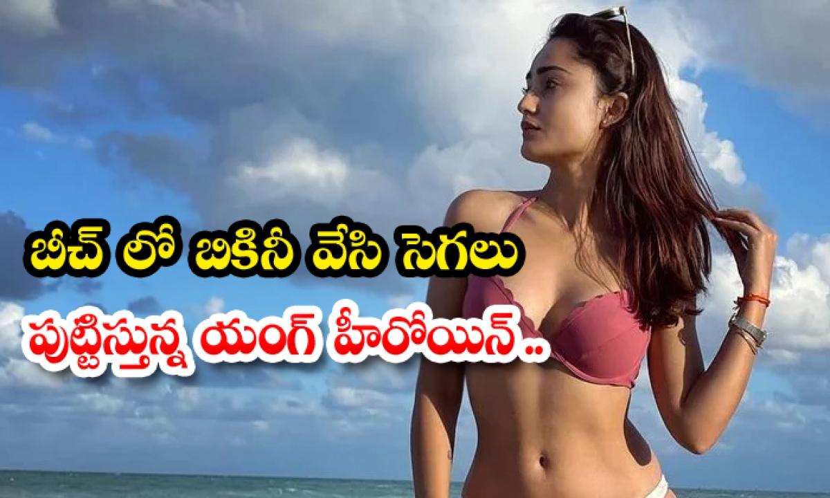 Tridha Choudhury Looks Stunning In Bikini-బీచ్ లో బికినీ వేసి సెగలు పుట్టిస్తున్న యంగ్ హీరోయిన్…-Latest News - Telugu-Telugu Tollywood Photo Image-TeluguStop.com
