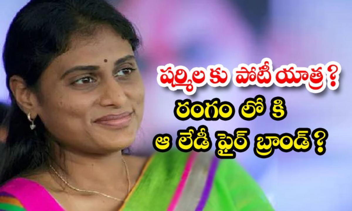 Konda Surekha To Competeter On Sharmila Congress Central Leaders Thinking-షర్మిలకు పోటీ యాత్ర రంగంలోకి ఆ లేడీ ఫైర్ బ్రాండ్ -Political-Telugu Tollywood Photo Image-TeluguStop.com