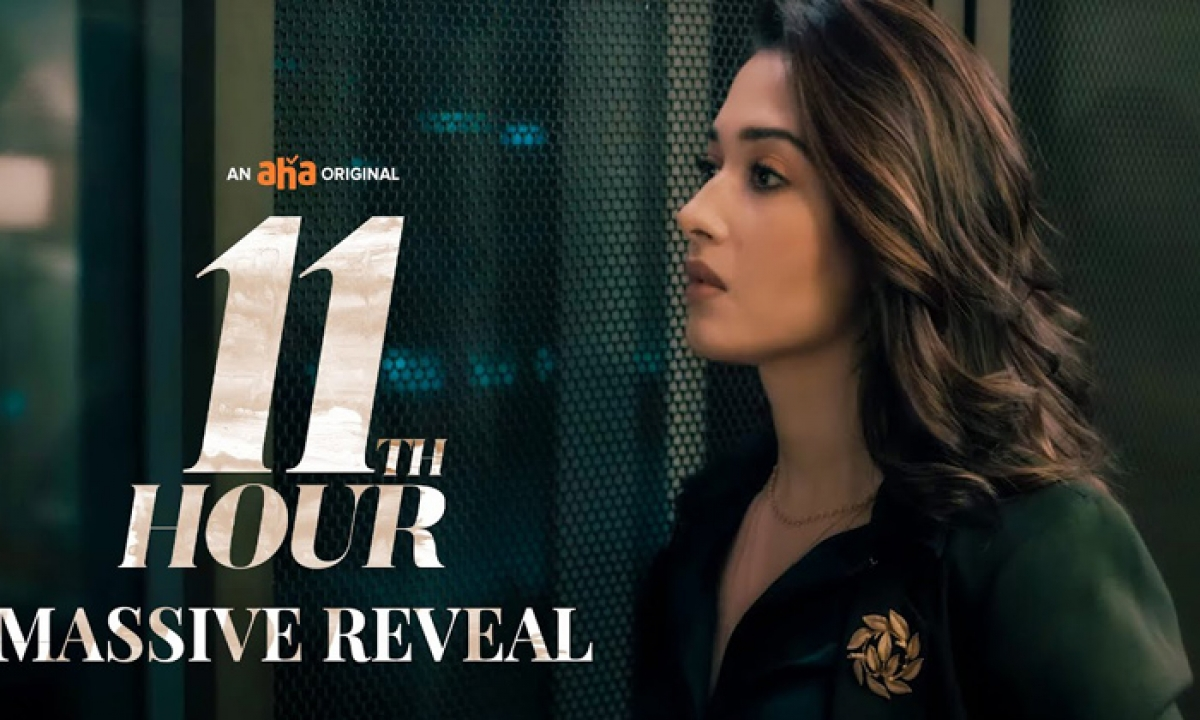 Tamannah's Web Series '11th Hour' Gets A Release Date