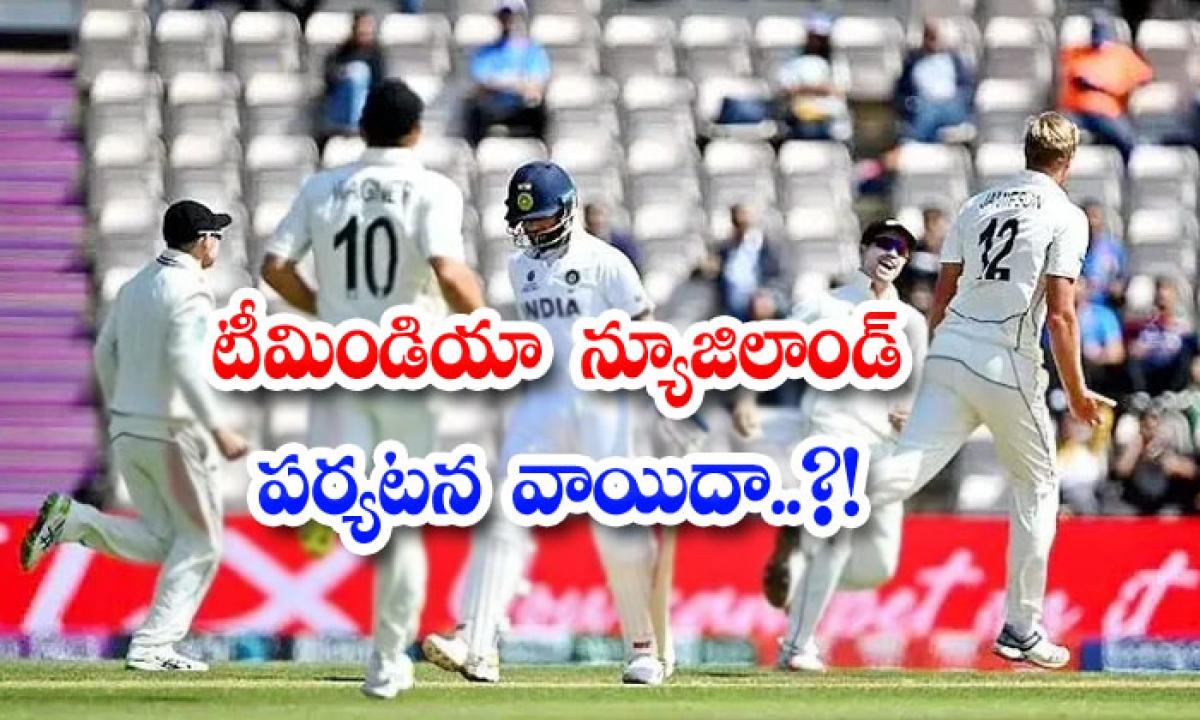 Team India Tour Of New Zealand Postponed-టీమిండియా న్యూజిలాండ్ పర్యటన వాయిదా..-General-Telugu-Telugu Tollywood Photo Image-TeluguStop.com