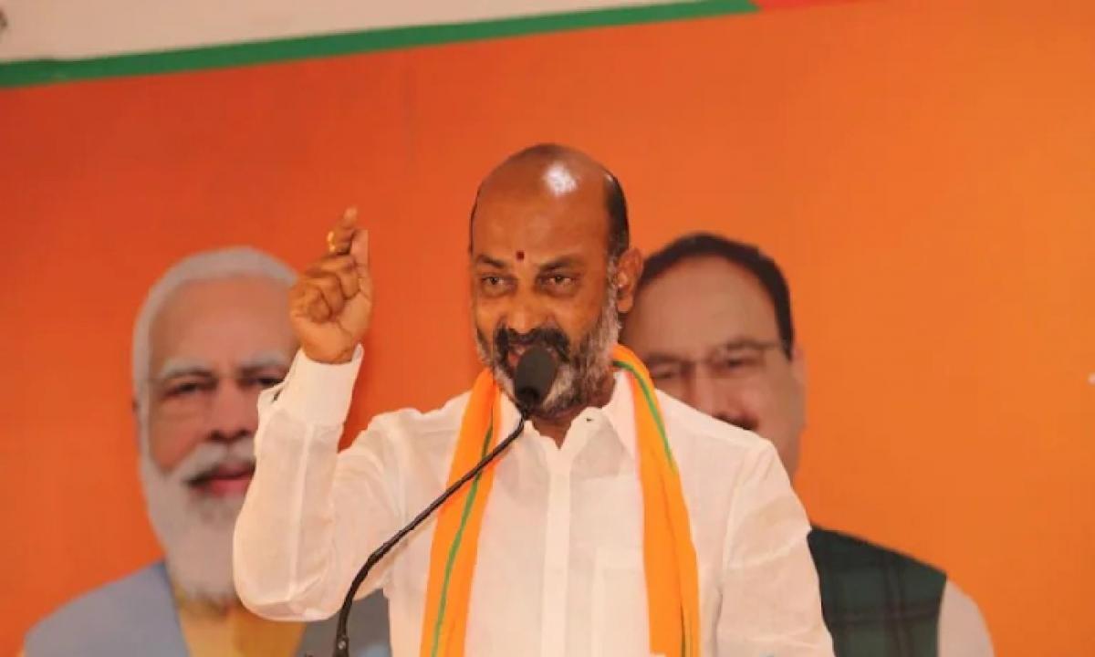 Telangana BJP Chief Bandi Sanjay's 750-km Long Walkathon Postponed-Latest News - Telugu-Telugu Tollywood Photo Image-TeluguStop.com