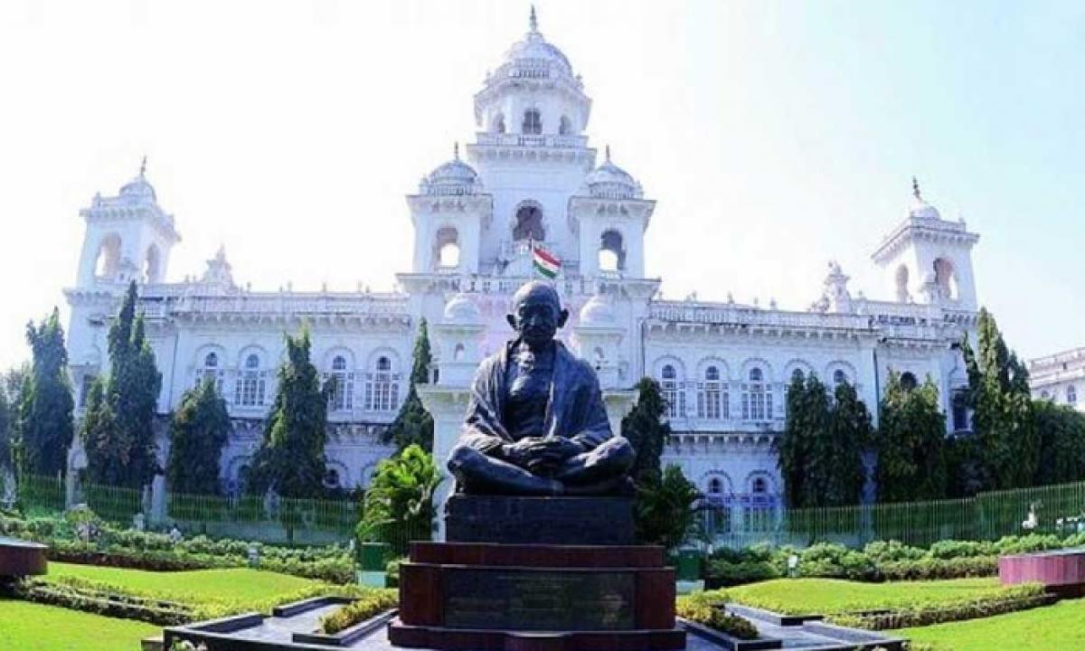 Telangana Monsoon Assembly Session Starts Today-TeluguStop.com