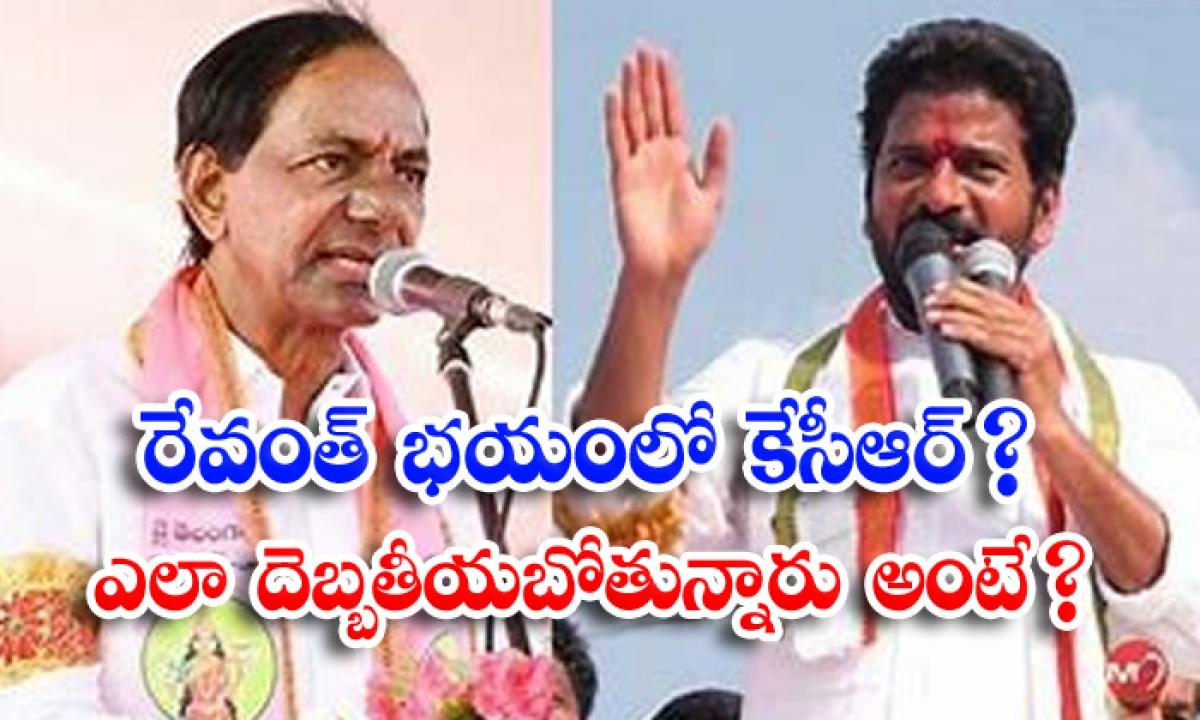 Kcr Fear On Revanth Reddy Issue-రేవంత్ భయంలో కేసీఆర్ ఎలా దెబ్బతీయబోతున్నారు అంటే -Political-Telugu Tollywood Photo Image-TeluguStop.com