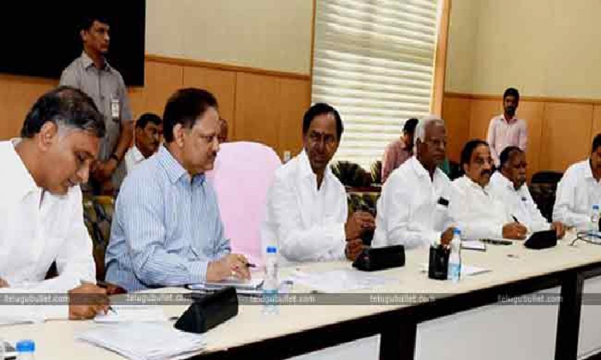 Telangana Cabinet To Meet Today At 2 Pm-Latest News - Telugu-Telugu Tollywood Photo Image-TeluguStop.com