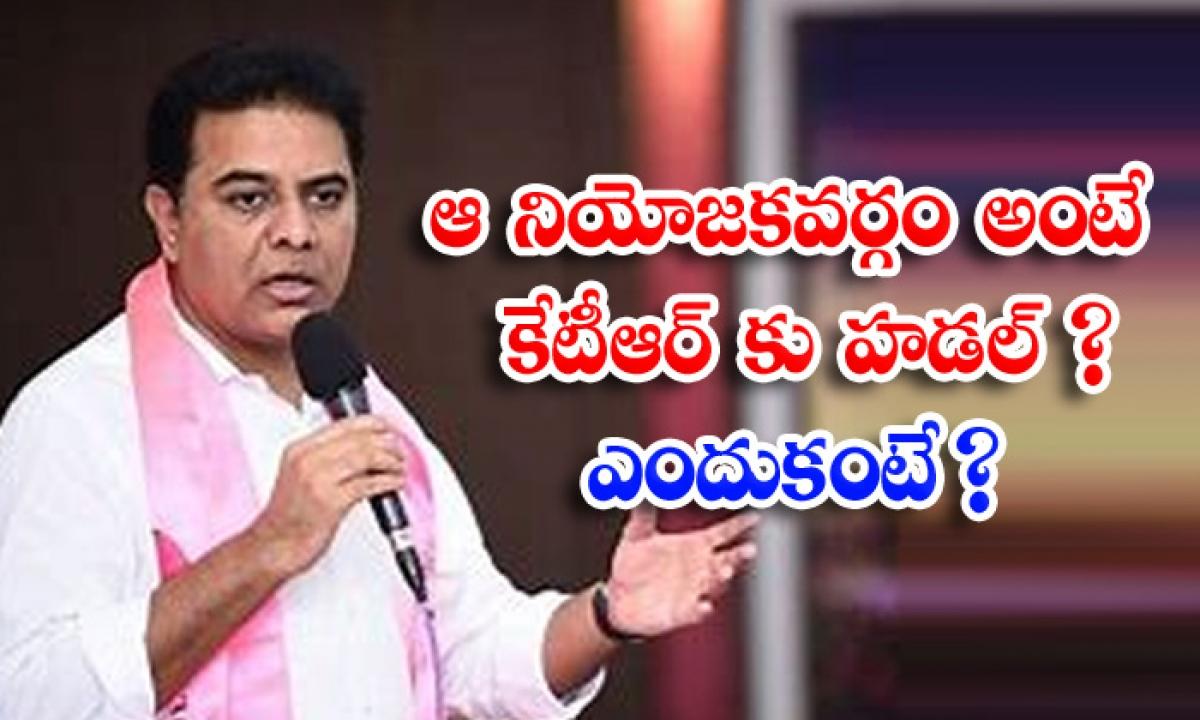 Minister Ktr Fear On Hujurabad Constency-ఆ నియోజకవర్గం అంటే కేటీఆర్ కు హడల్ ఎందుకంటే -Political-Telugu Tollywood Photo Image-TeluguStop.com