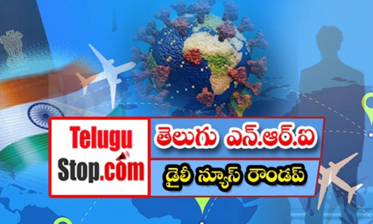 Telugu Nri America Canada News Roundup Breaking Headlines Latest Top News 12 October 2021-తెలుగు ఎన్ఆర్ఐ డైలీ న్యూస్ రౌండప్-Latest News - Telugu-Telugu Tollywood Photo Image-TeluguStop.com
