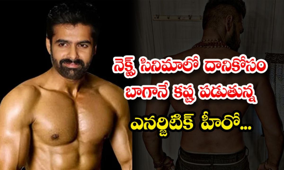 Telugu Hero Ram Pothineni Is Hard Work For Six Pack Body In His Upcoming Film-నెక్స్ట్ సినిమాలో దానికోసం బాగానే కష్ట పడుతున్న ఎనర్జిటిక్ హీరో…-Latest News - Telugu-Telugu Tollywood Photo Image-TeluguStop.com