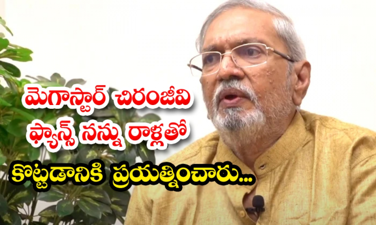 Telugu Senior Actor Vallabhaneni Janardhan Sensational Comments On Chiranjeevi Fans-TeluguStop.com