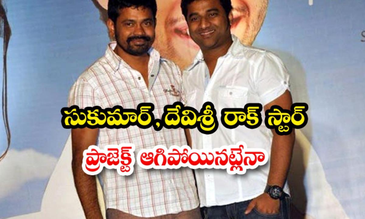 Sukumar And Devi Sri Prasad Rockstar Movie Stopped-TeluguStop.com