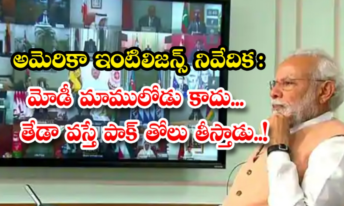 Us Intel Report Pm Modi Leadership India Pakistan-TeluguStop.com