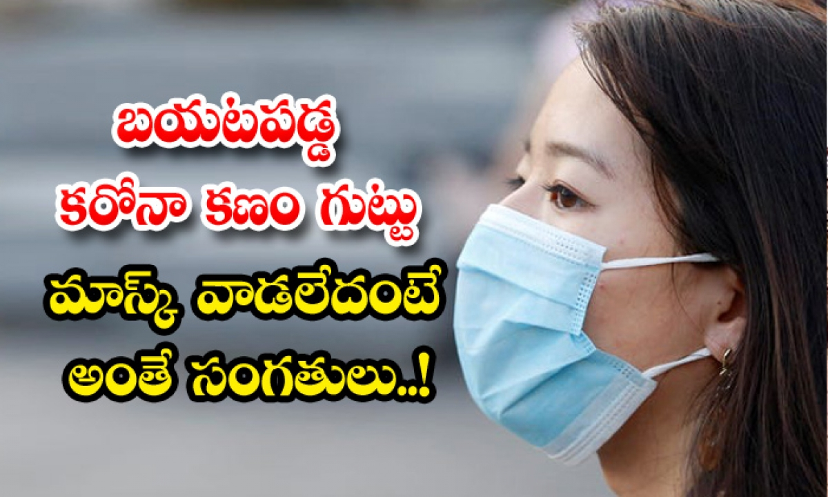Use Mask For Get Out Of Corona Virus-TeluguStop.com