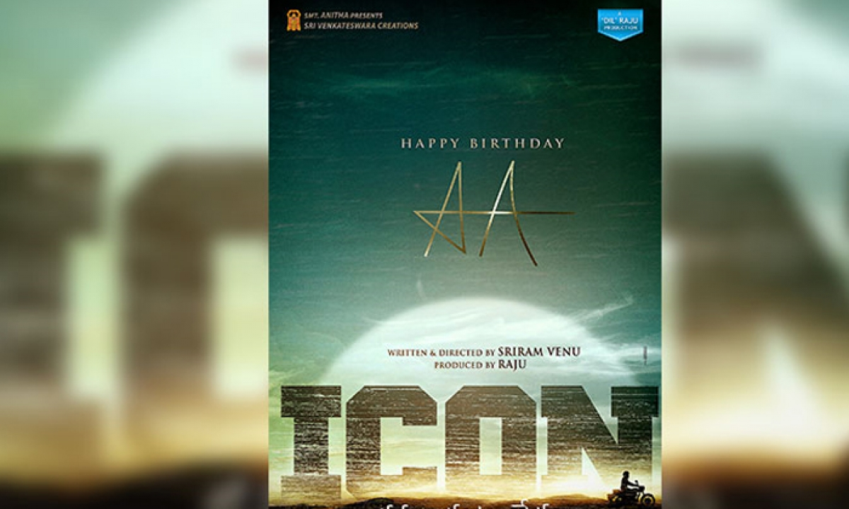 Allu Arjun-venu Sriram's 'icon' Back In News-TeluguStop.com