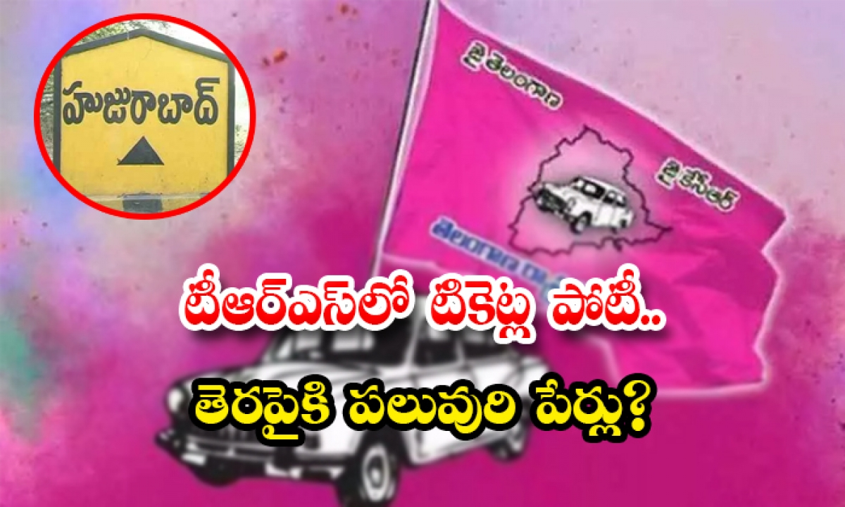 Who Are Contesting In Huzurabad Constituency From Trs Against Etela Rajender-టీఆర్ఎస్లో టికెట్ల పోటీ.. తెరపైకి పలువురి పేర్లు-Latest News - Telugu-Telugu Tollywood Photo Image-TeluguStop.com