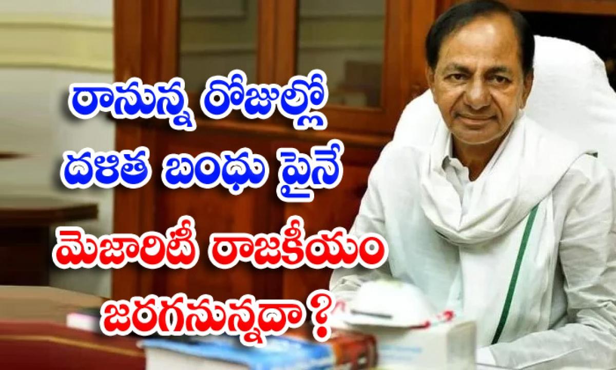 Will Majority Politics Be Held On Dalit Kinship In The Coming Days-రానున్న రోజుల్లో దళిత బంధు పైనే మెజారిటీ రాజకీయం జరగనున్నదా-Latest News - Telugu-Telugu Tollywood Photo Image-TeluguStop.com