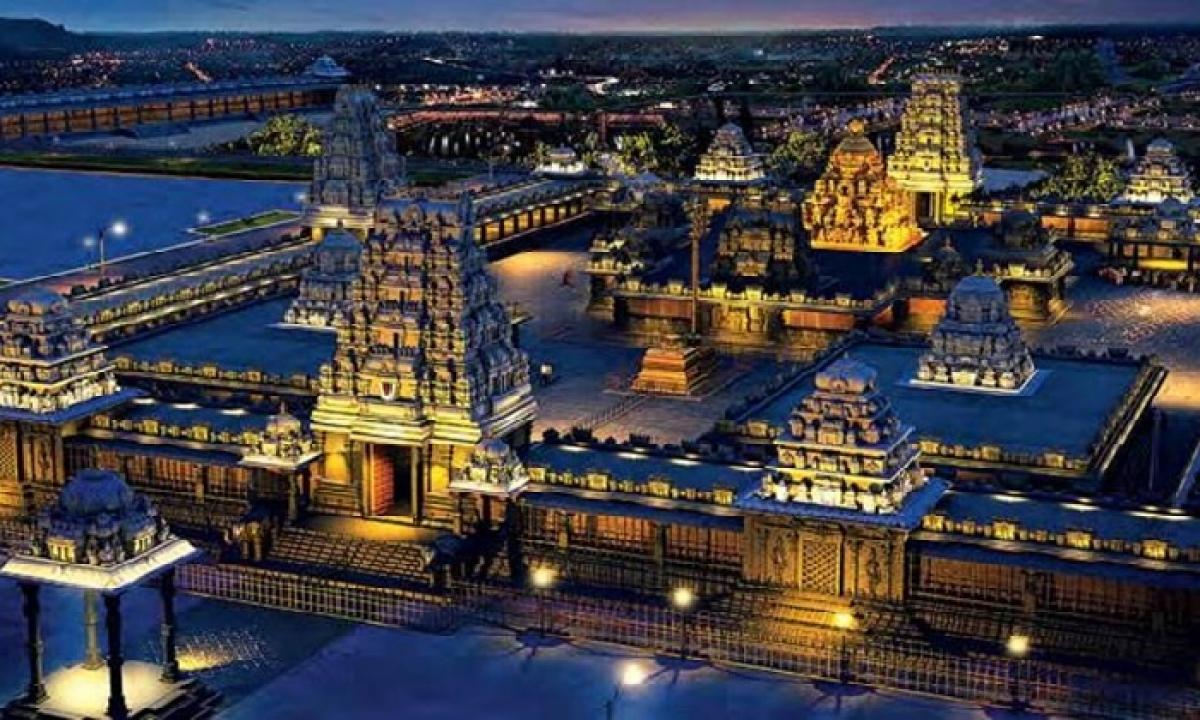Yadadri Temple To Be Inaugurated In December-Latest News - Telugu-Telugu Tollywood Photo Image-TeluguStop.com