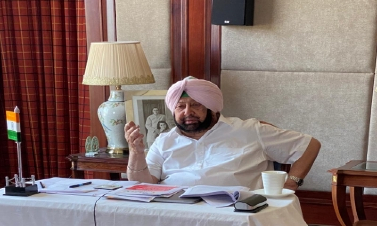 TeluguStop.com - Aap Trying To Sell Lies To Punjab's People, Says Amarinder