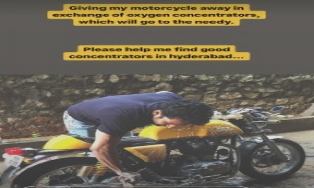 Actor Harshvardhan Rane Donates Oxygen Concentrator To Cyberabad Police-TeluguStop.com