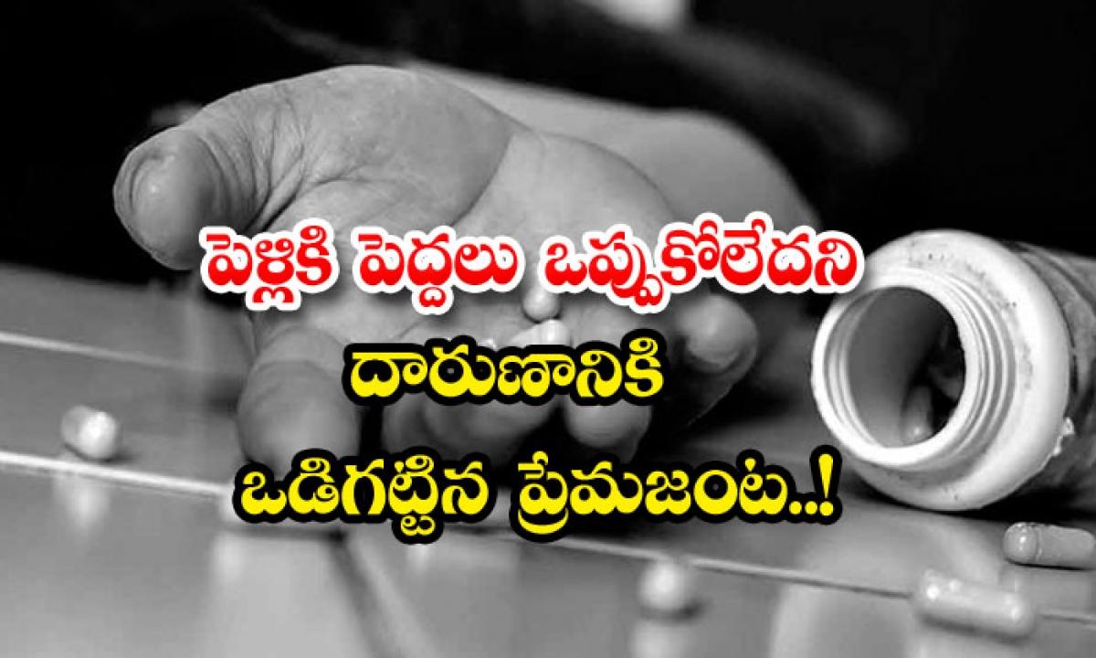 Adilabad Lovers Suicide Attempt-పెళ్లికి పెద్దలు ఒప్పుకోలేదని దారుణానికి ఒడిగట్టిన ప్రేమజంట.. -Breaking/Featured News Slide-Telugu Tollywood Photo Image-TeluguStop.com