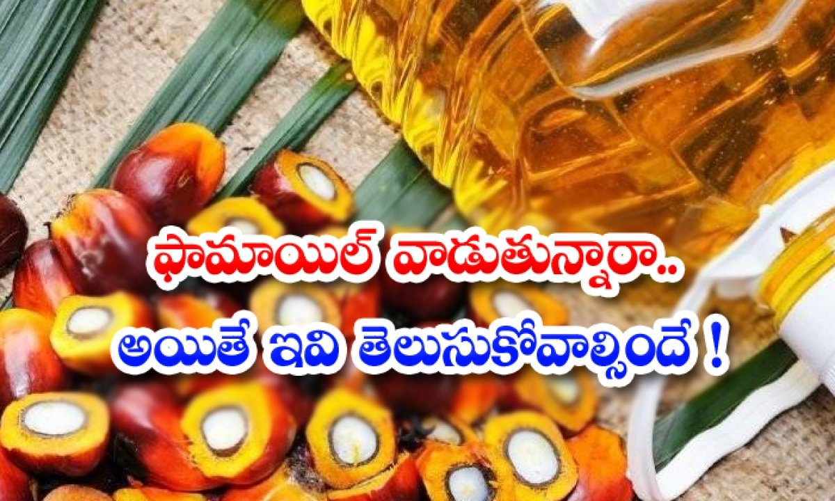 Advantages And Disadvantages Of Palm Oil-పామాయిల్ వాడుతున్నారా..అయితే ఇవి తెలుసుకోవాల్సిందే-Latest News - Telugu-Telugu Tollywood Photo Image-TeluguStop.com