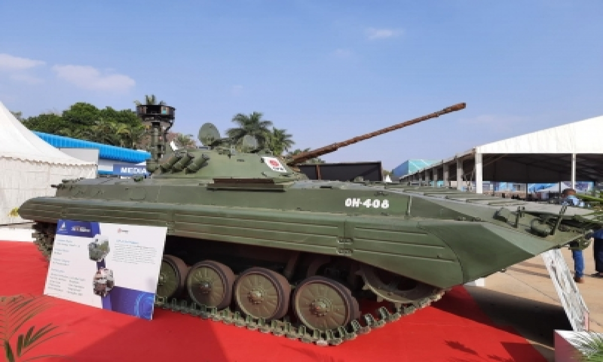 Aero India: Not Fighter Jet But Infantry Combat Vehicle Is Showstopper-TeluguStop.com