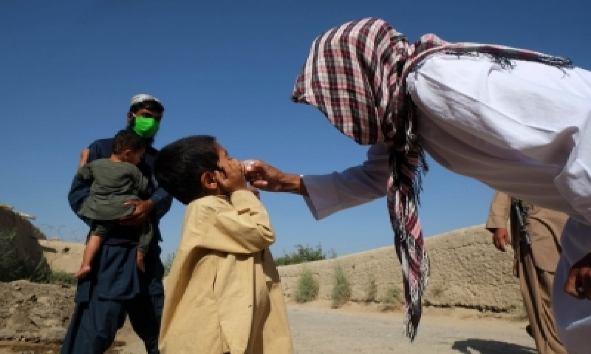 Afghanistan Launches Polio Vaccination Targeting 9.9mn Kids-TeluguStop.com