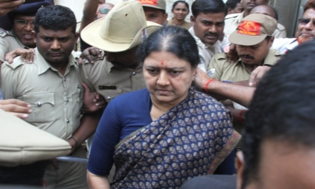 Ahead Of Release From Jail, Sasikala Tests Covid Positive-TeluguStop.com