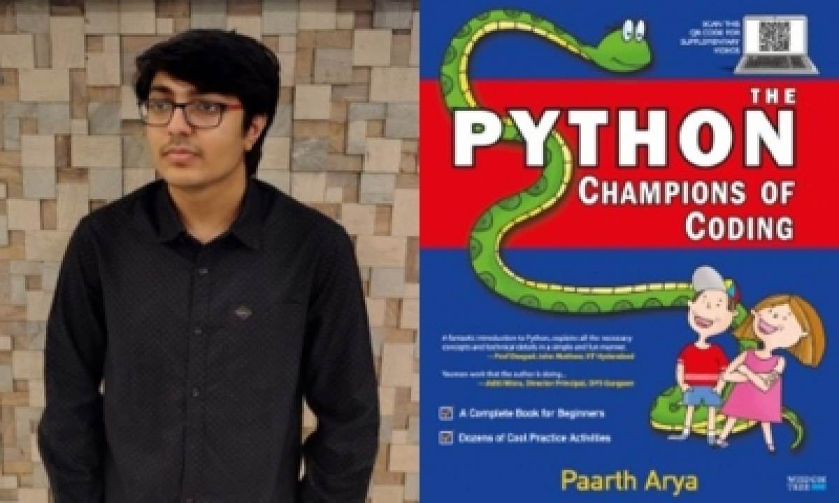 Aim To Harness Tech For Everyone's Benefit: Teen Coder-author Paarth Arya (ians Interview, Ld)-TeluguStop.com