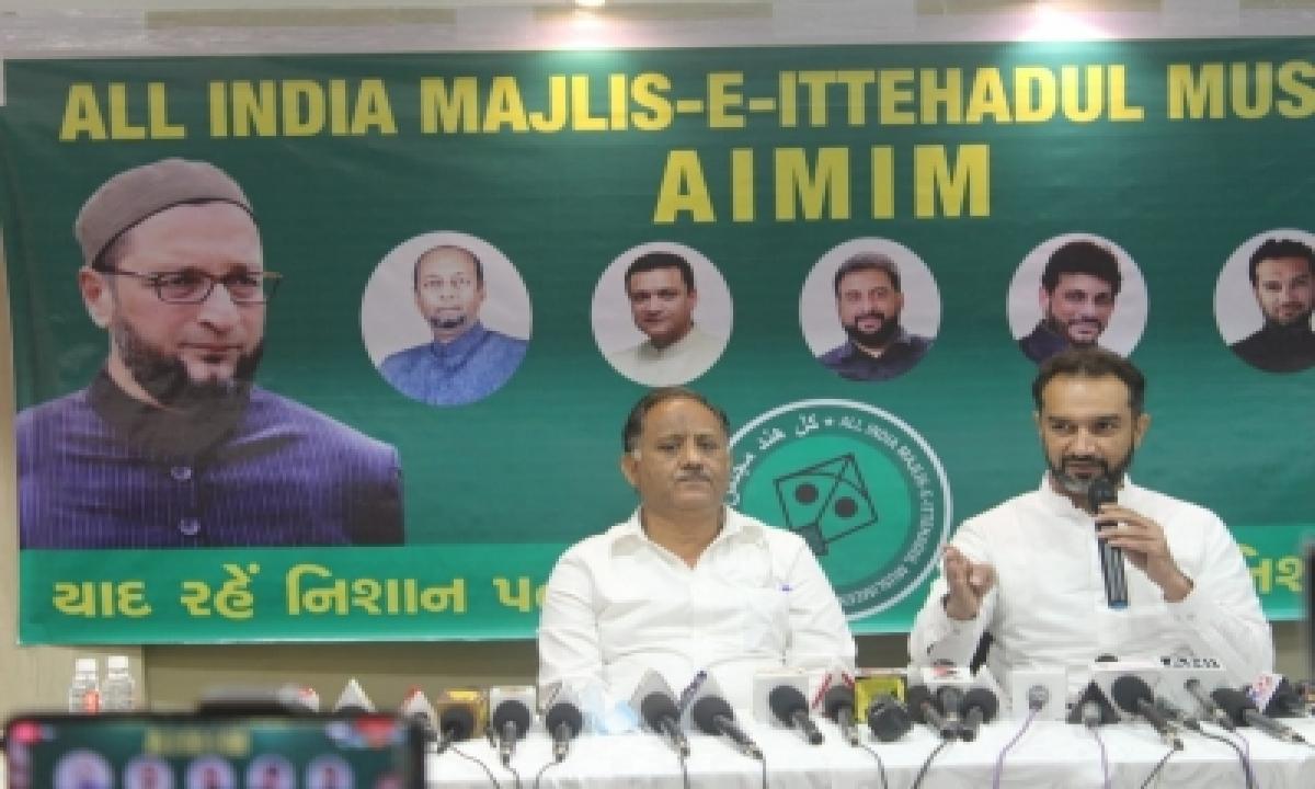 TeluguStop.com - Aimim's Gujarat Unit Launched To Contest Local Polls